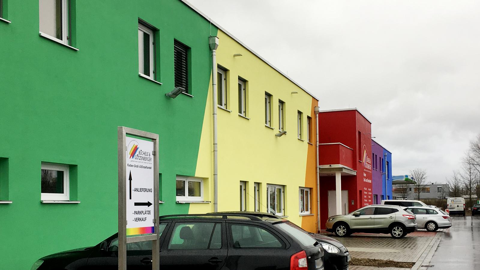 Farben Buechele Unterhaching Neubau