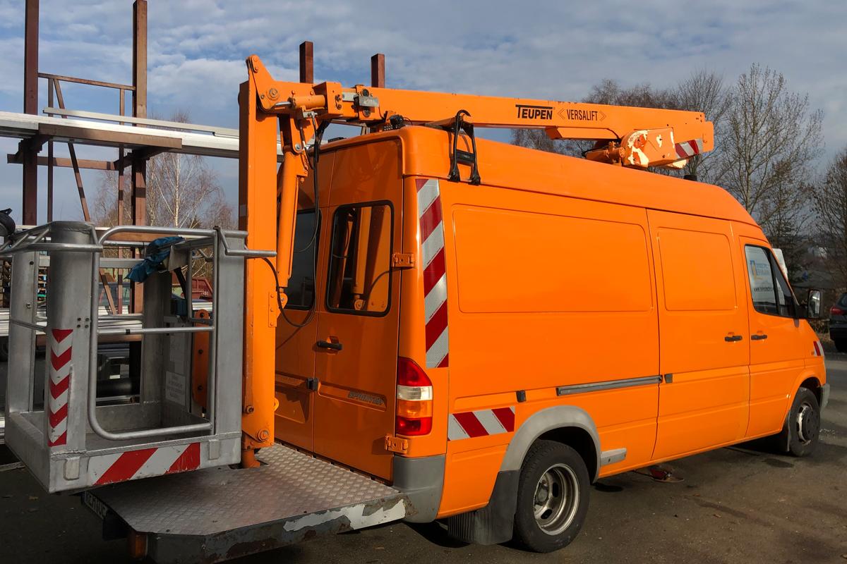 LED Umrüstung EHMANN GmbH Projekte